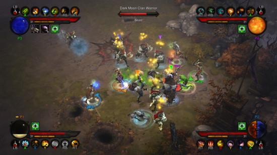 暗黑3主机版游戏截图