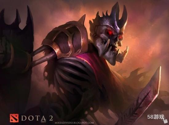 dota2 中的骷髅王(那个盾牌