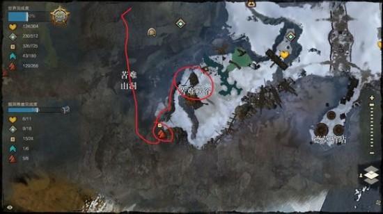 激战2诺恩掘洞悬崖迪桑矿井技能点探索