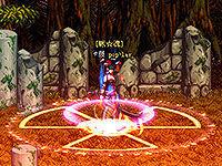 人剑合一 霸气爆炸波动及可爱粉魔法阵模型