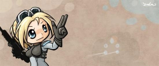 玩家作品:《风暴英雄》萌系英雄涂鸦欣赏