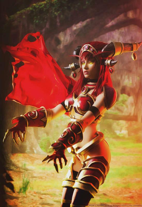 龙女王阿莱克斯塔萨