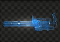 加特林-蓝水晶(FP点道具)