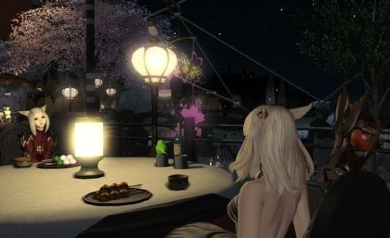 最终幻想14女儿节精美图 女儿节布景太漂亮