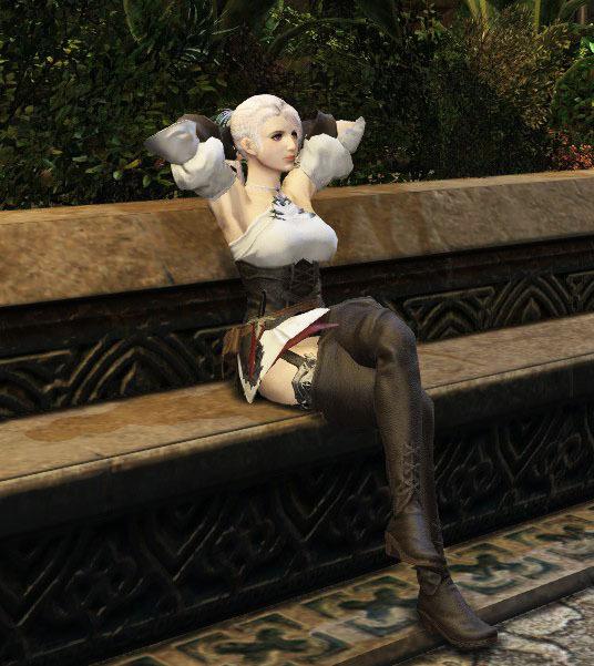 FF14玩家高地女性捏脸展示 既优雅又有风情
