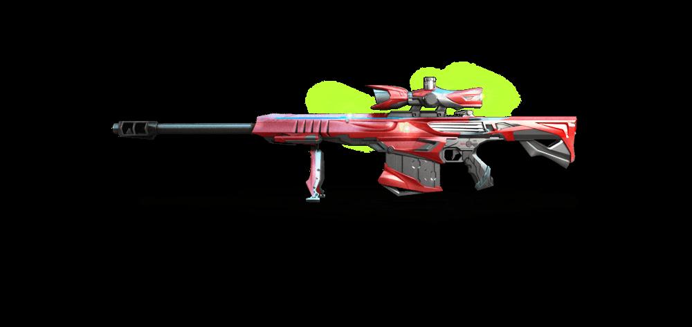 CF新版本新增武器介绍 英雄级武器巴雷特极光
