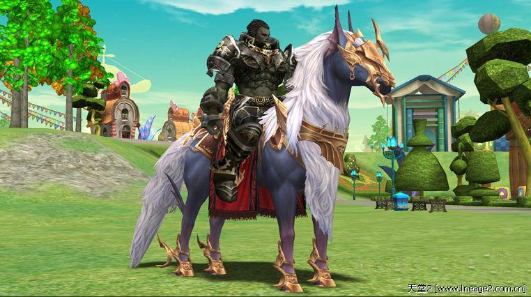 2前瞻:骑马去天堂 网络游戏天堂Ⅱ