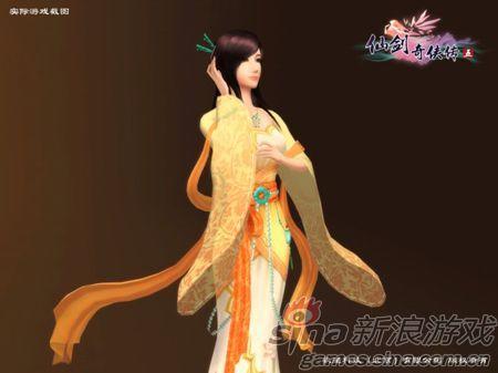 仙剑五女主角视频