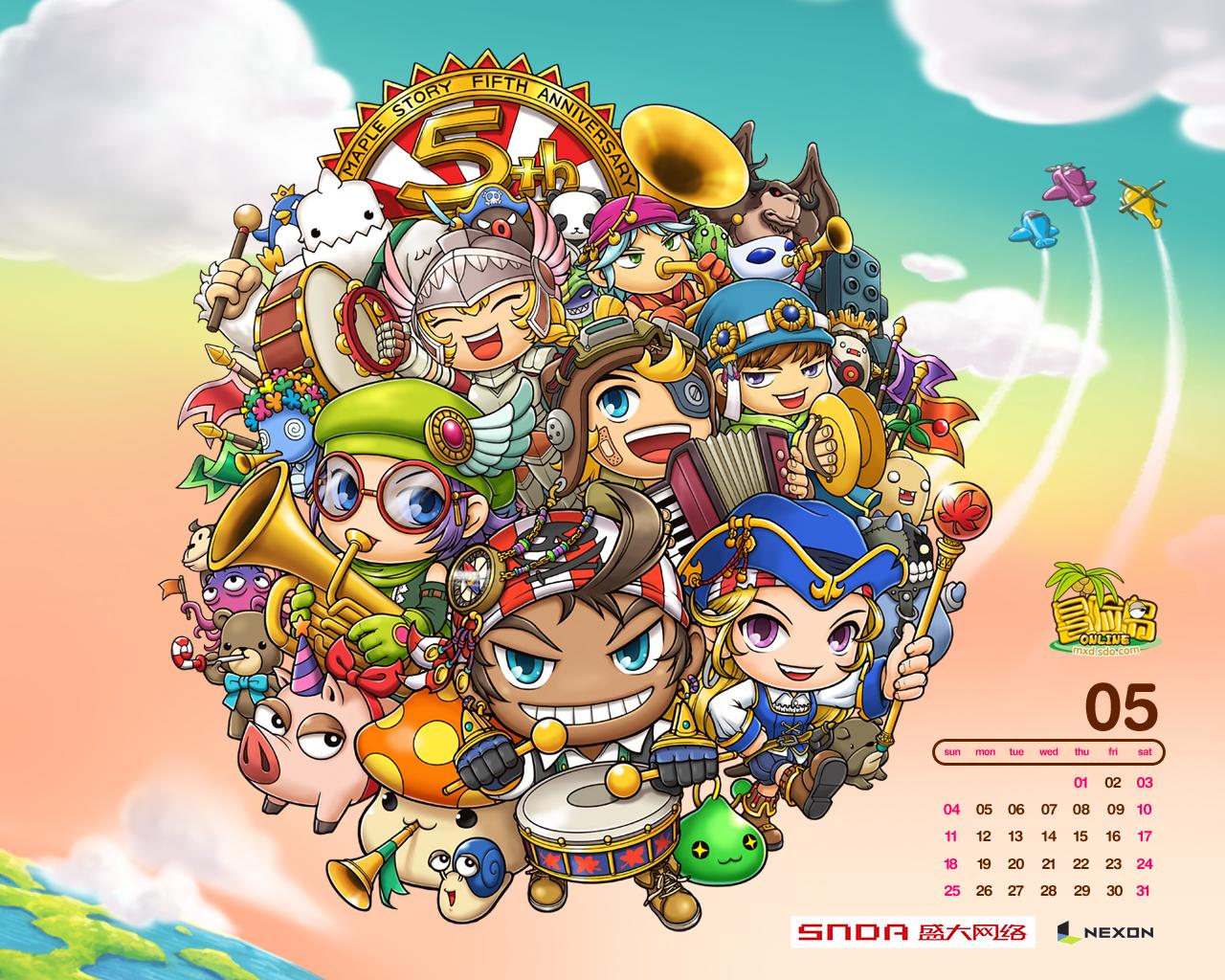 冒险岛人偶师的痕迹_《冒险岛》游戏壁纸(13)