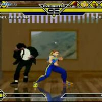 玩家恶搞:杰克逊教游戏人物跳舞