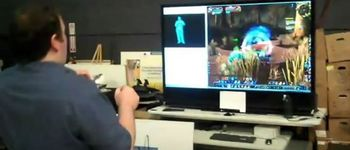 视频:用微软Kinect玩《魔兽世界》