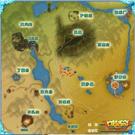 鬼屋探险地图