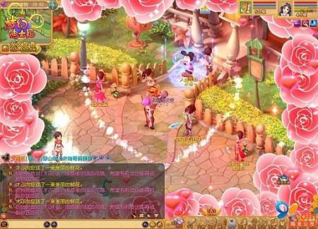 相机迪士尼90后女生漫画的粉色网游_网络游戏版最爱梦幻图片