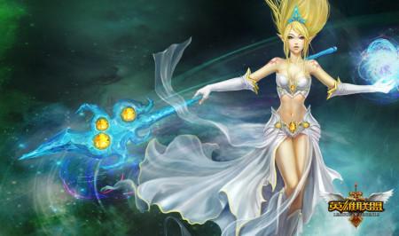 LOL英雄风暴女神-迦娜-GDC五项大奖提名 LOL锋芒直逼魔兽世界