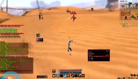 剑斩风沙 韩服大沙漠剑士决斗视频