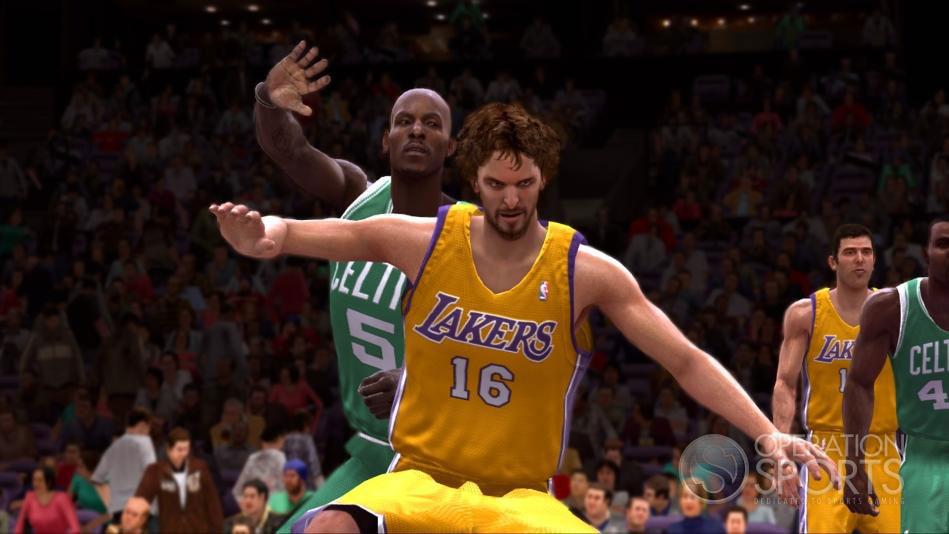 《NBA Live 2009》首批游戏画面