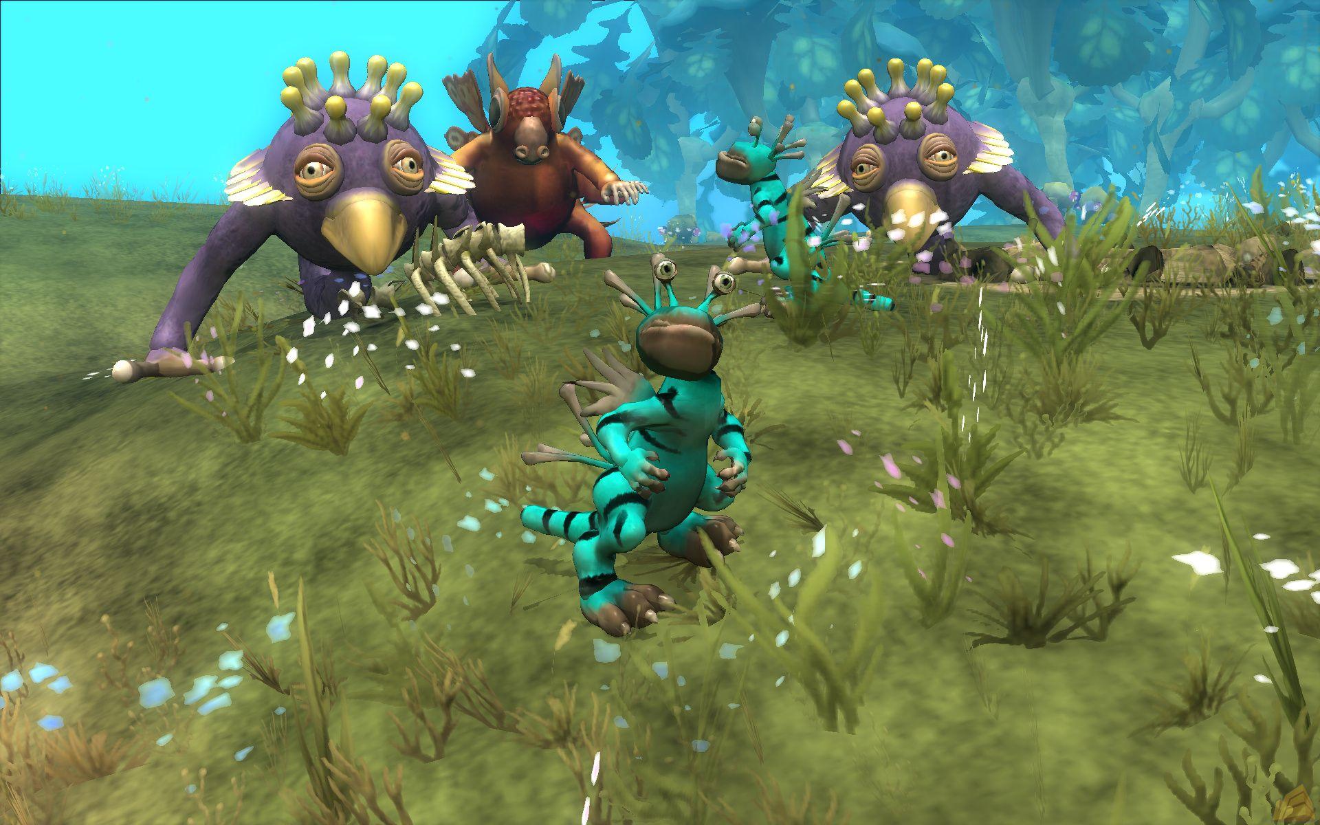 《孢子》e3 2008游戏画面(1)图片