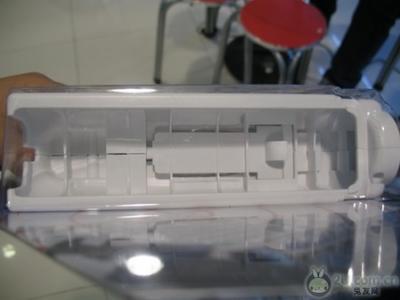 手枪支架内部的结构