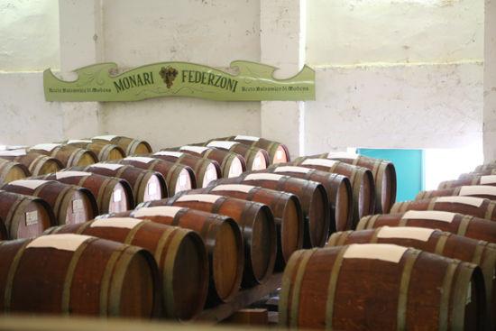 生产IGP级别的Balsamic的工厂Monari Federzoni的陈设与产品