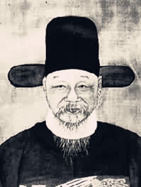 """顾宪成(1550-1612)明代思想家,东林党领袖。江苏无锡人,字叔时,号泾阳,因创办东林书院而被人尊称""""东林先生""""。"""