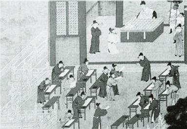 古代科举考试现场资料