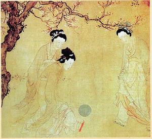 中国古代女足