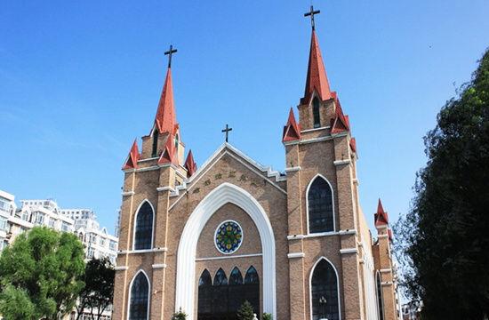 哈尔滨的哈利路亚教堂
