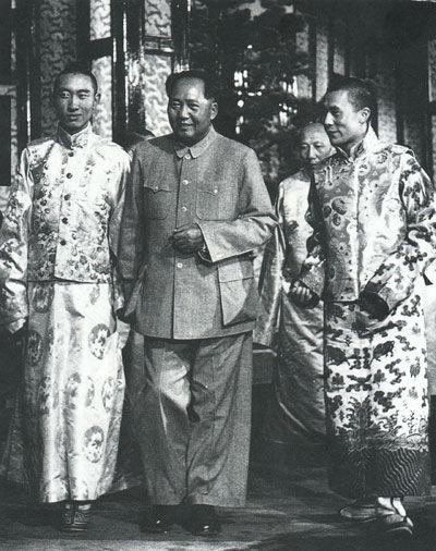 达赖、班禅联袂进京受到毛泽东接见(1954年)