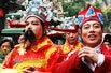 大年初五杭州南宋御街迎财神