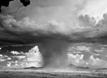 核爆炸似巨型蘑菇云