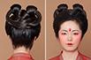 唐朝贵族少女妆容