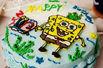 海绵宝宝生日蛋糕