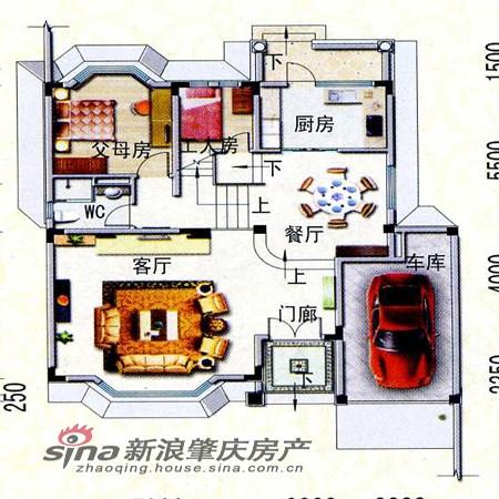 碧桂园联排别墅展示_设计图分享