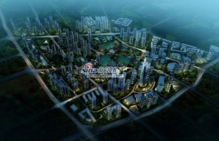 在商业规划方面,润城项目数易其稿