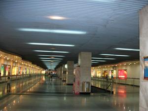 新开通的地铁1号线黄沙站