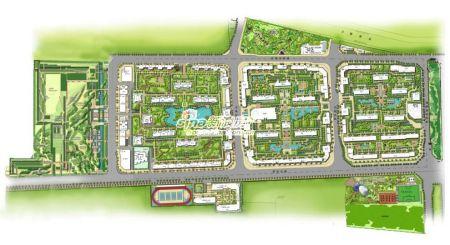 图为富力又一城规划图