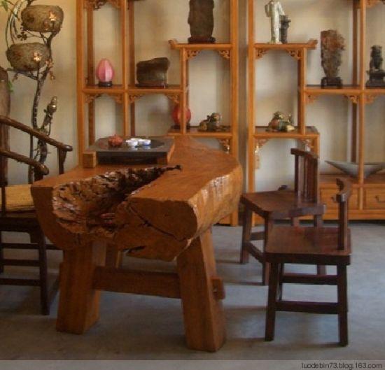 船木家具;; 船木家具摘要:原生态香樟木台船木家具