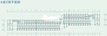 图为东亚上北鑫座项目A座2层平面图