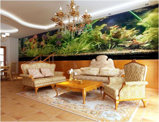 环艺室内沙发手绘