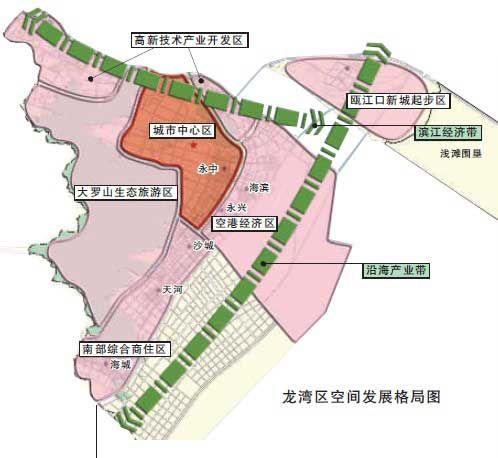 温州市龙湾区地图