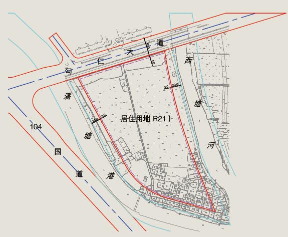 平山县新城区规划图