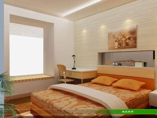 家居设计技巧:小面积卧室装修效果图(2)