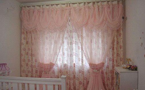 欧式蕾丝帘头款式图片大全