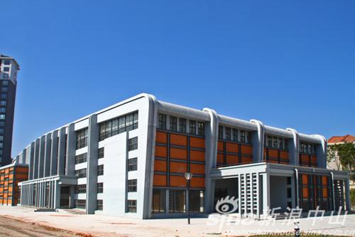 欧式建筑外观实景图
