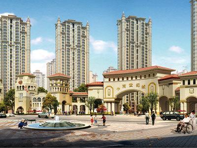 中国房地产名企名盘落户南通--中南集团及其旗