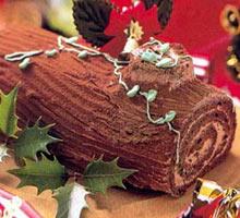 树干蛋糕Buchedenoel