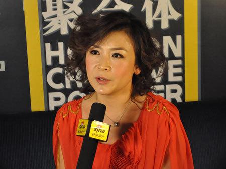 图为河南电视台法制频道主持人