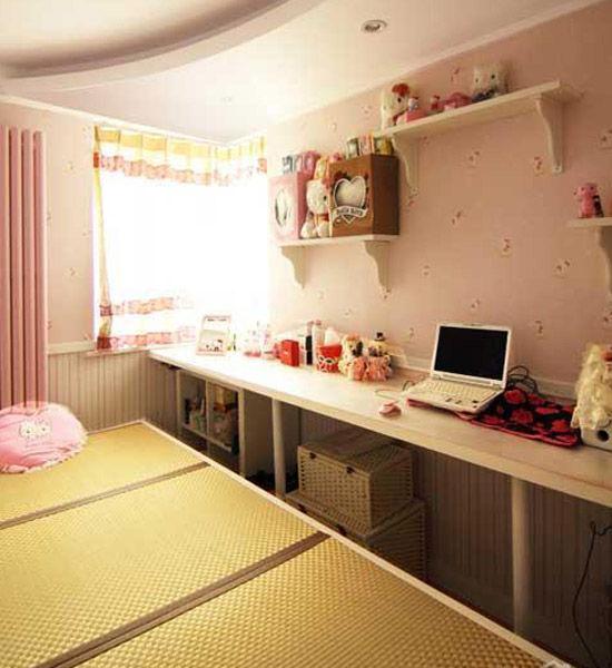 创意设计 精美kitty主题房间 新浪家居