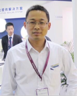 江阴海达橡塑市场总监 胡全福区域优势带动渠道扩张