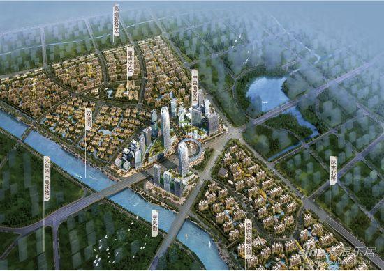 绿地世纪城鸟瞰图
